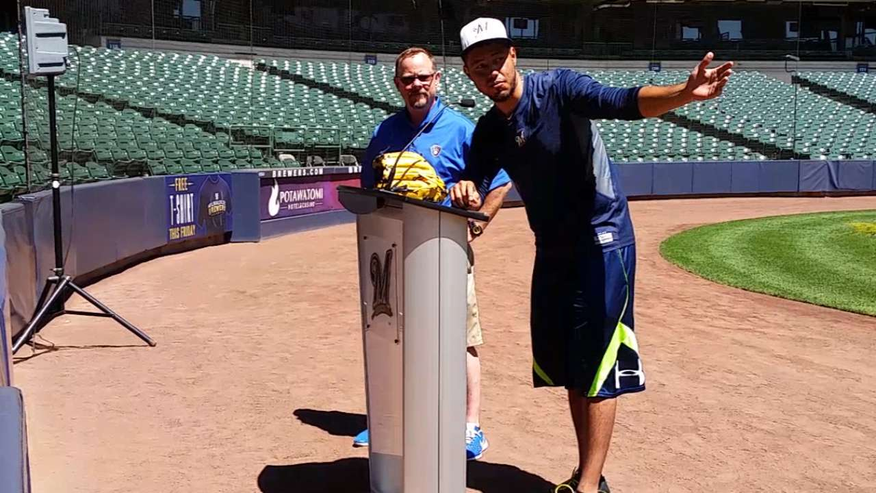 Brewers host PLAY Campaign event at Miller Park