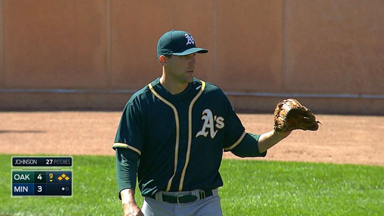 Struggling Johnson designated for assignment