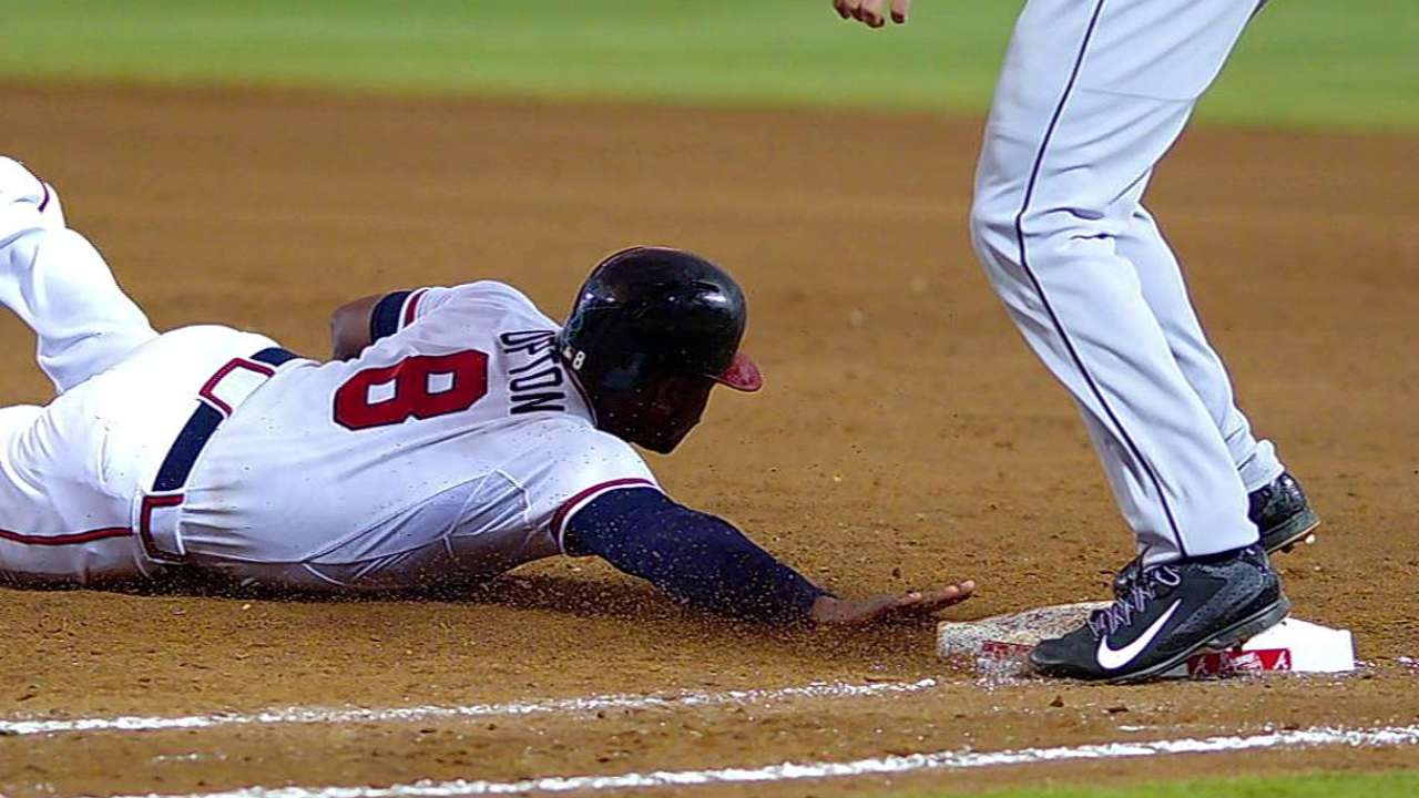 Overturned call gives Miami inning-ending double play