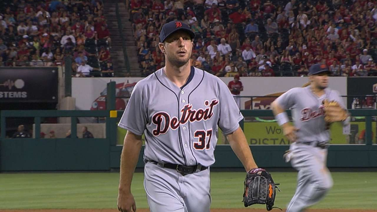 Scherzer reworks changeup, sees more whiffs