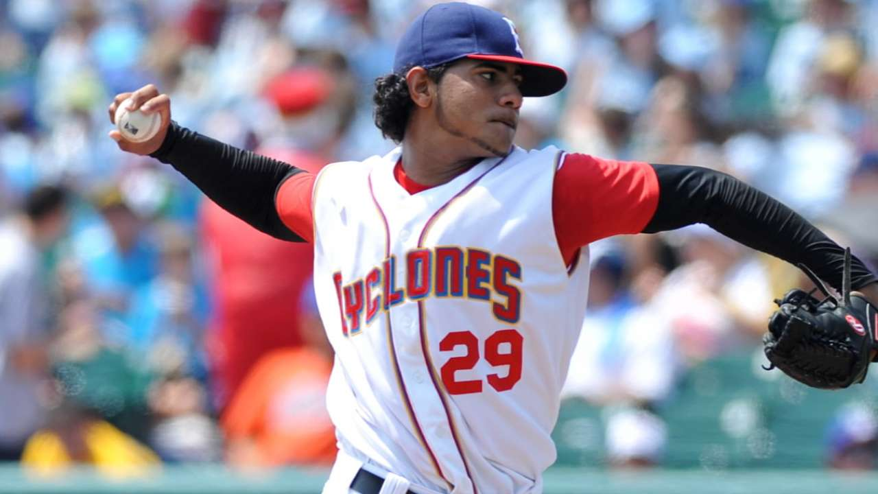 Molina racks up 12 more K's for Brooklyn