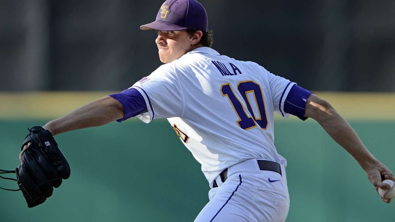 Nola goes five solid in Double-A debut