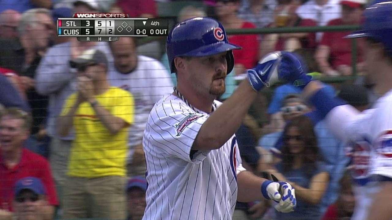 Wood-en bat: Pitcher knocks third home run