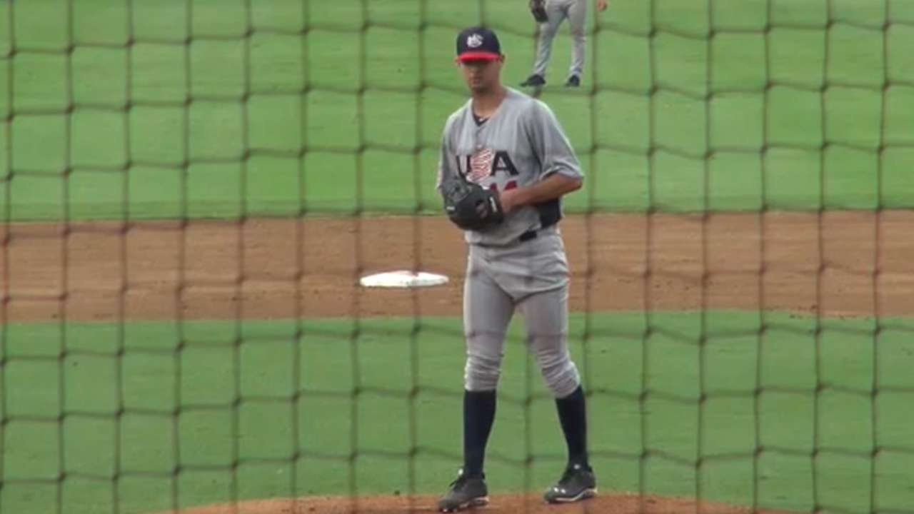 Beede tosses scoreless frame in professional debut