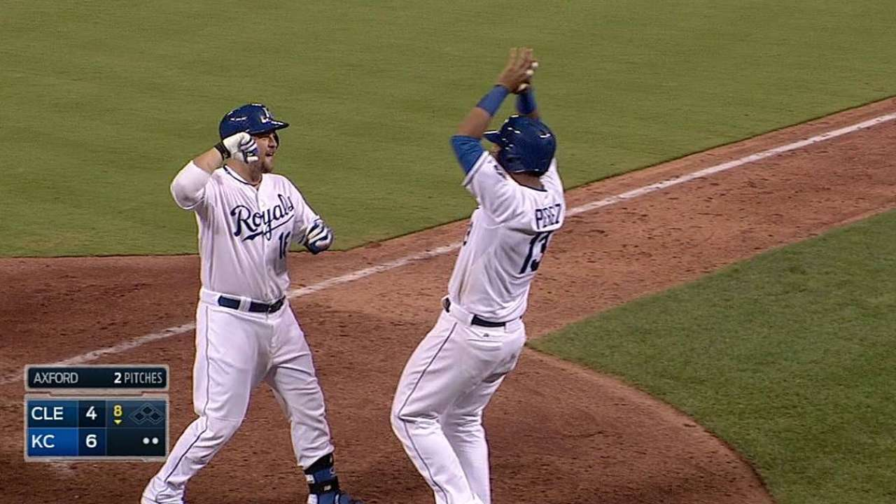 Service in a pinch: Butler homers off bench for win