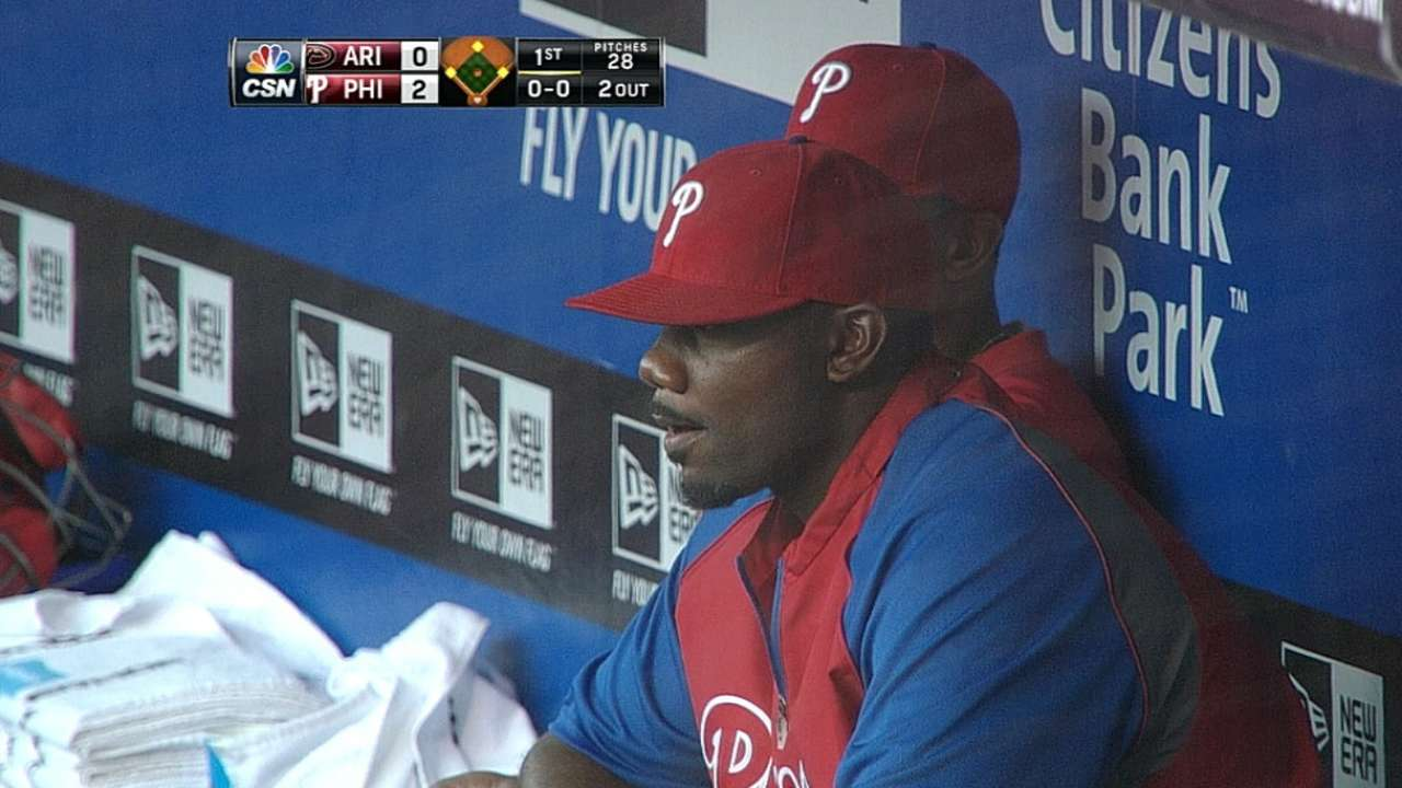Phils want Howard to be 'force' in return to lineup