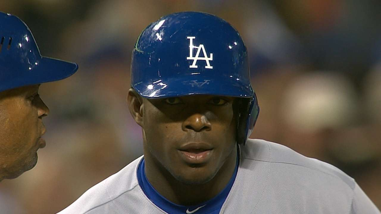 Signs point to Puig staying in center field