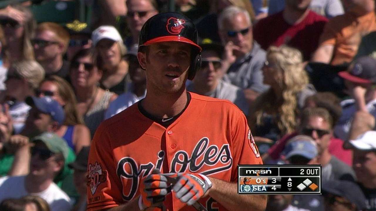 Orioles' offense contained in Norris' rough outing