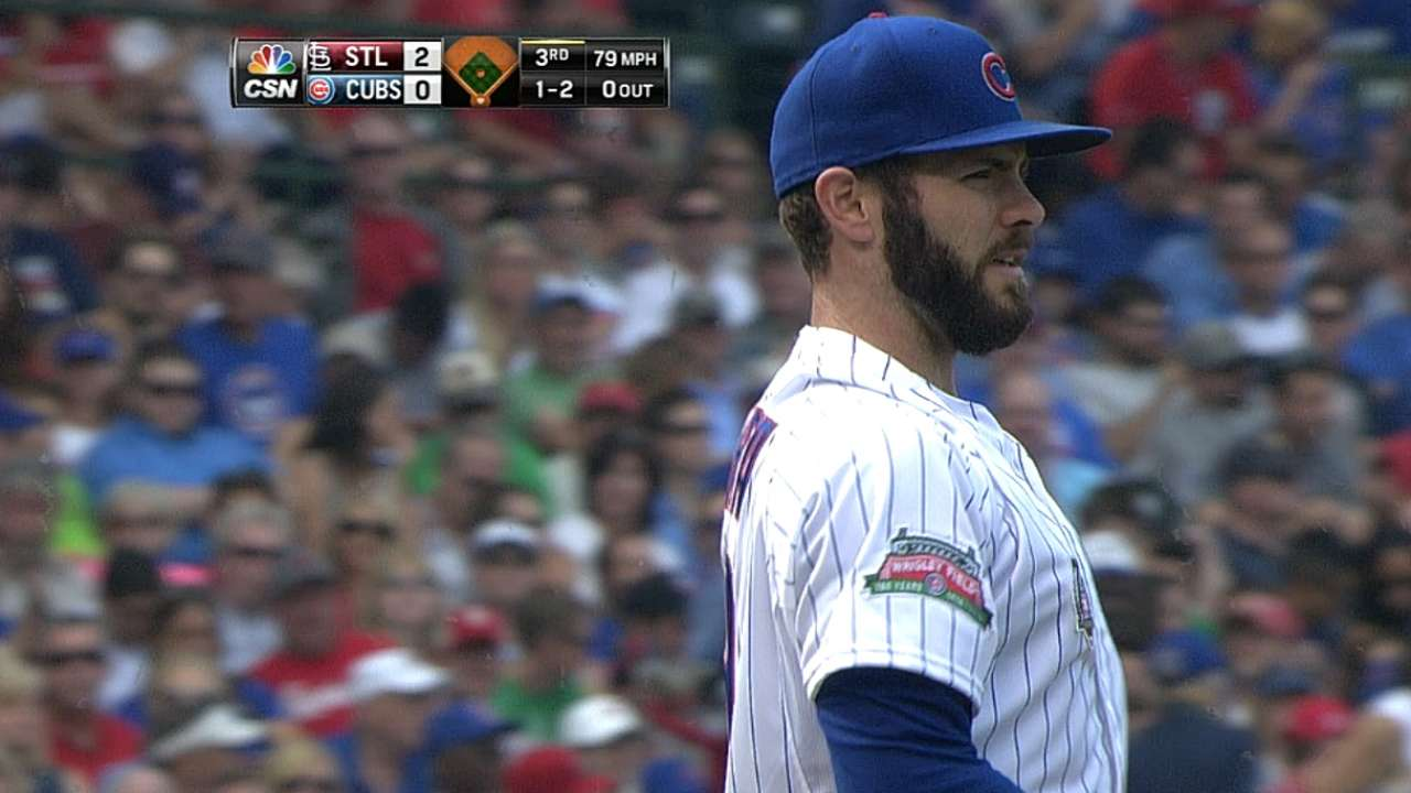 Cubs fall in Arrieta's ninth straight quality start