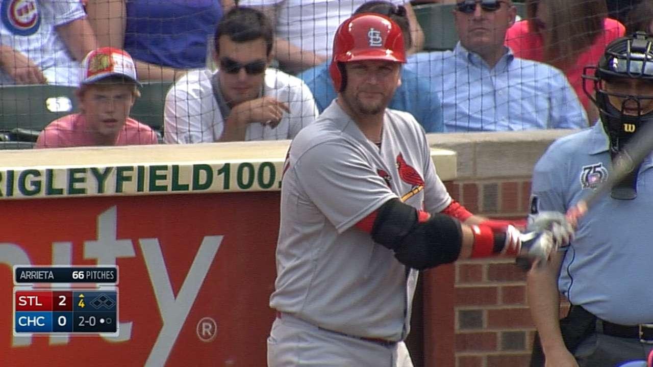 Adams, new batterymates fuel Cards past Cubs
