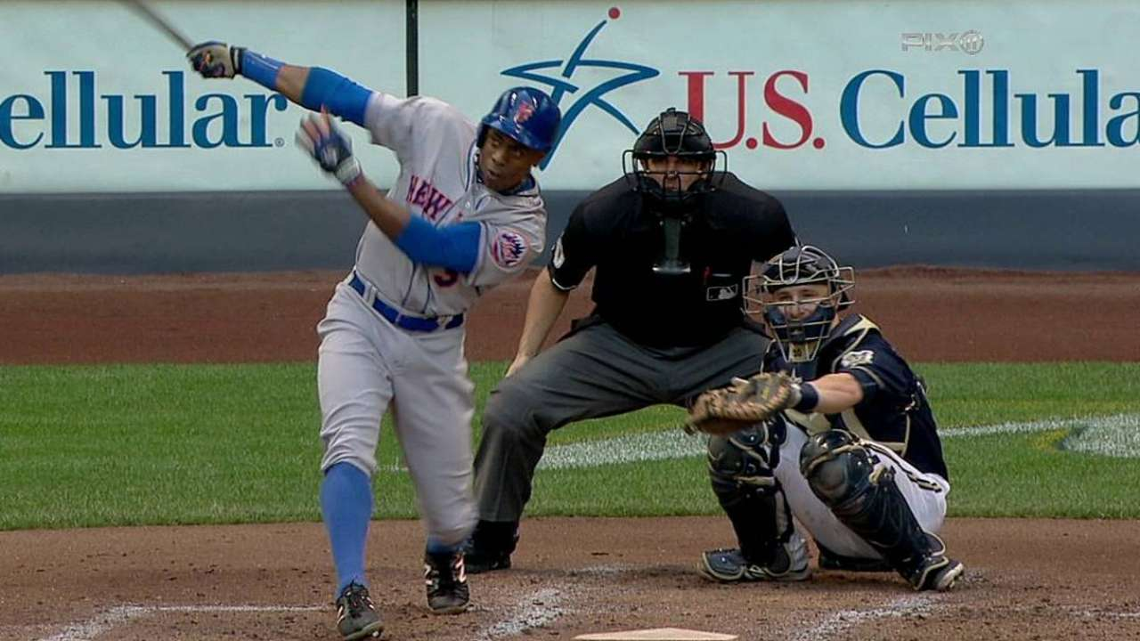 Mets can't hold onto early lead vs. Brewers