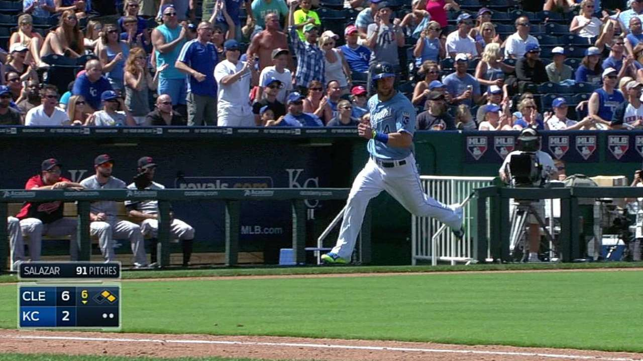 Chen, Royals derailed in bid for sweep of Tribe