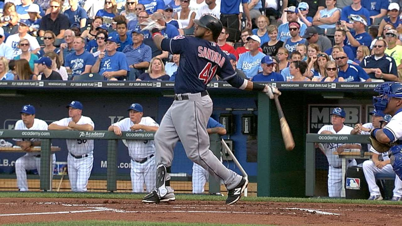Santana surges to AL Player of the Week nod