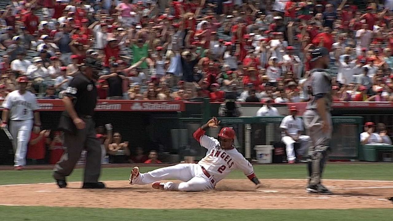 Angels collar Tigers with stellar pitching, late HR