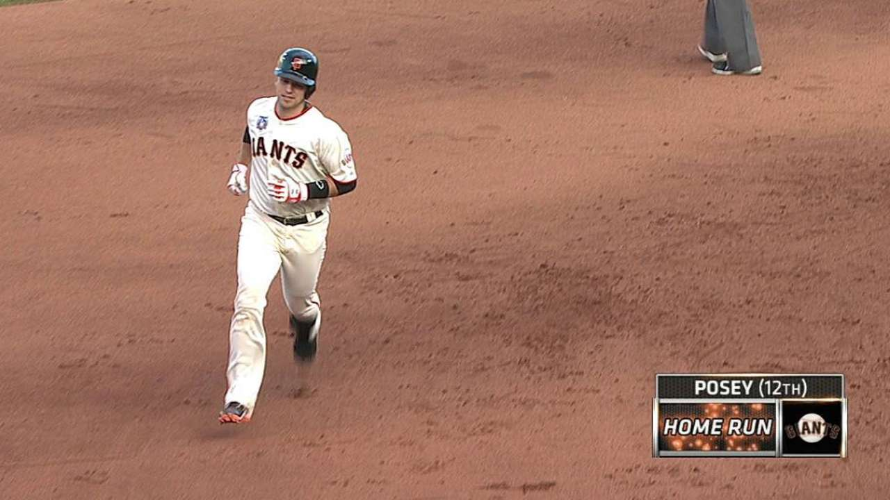 Giants struggling for extra-base hits at home
