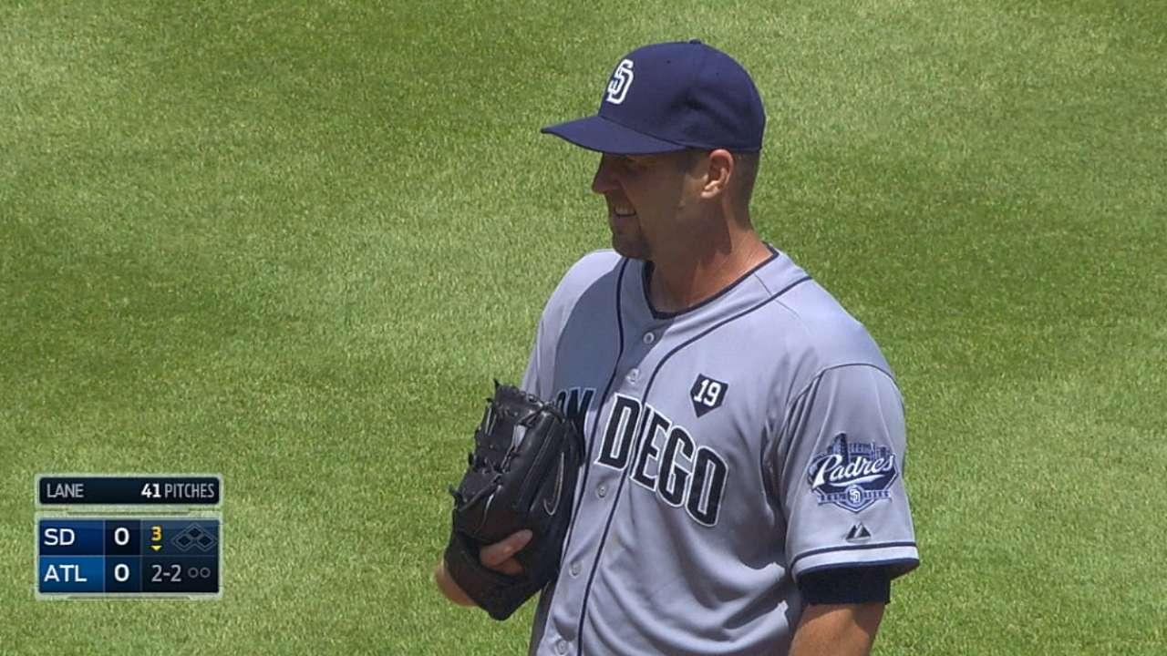 Joya de Lane no evitó derrota de Padres ante Bravos