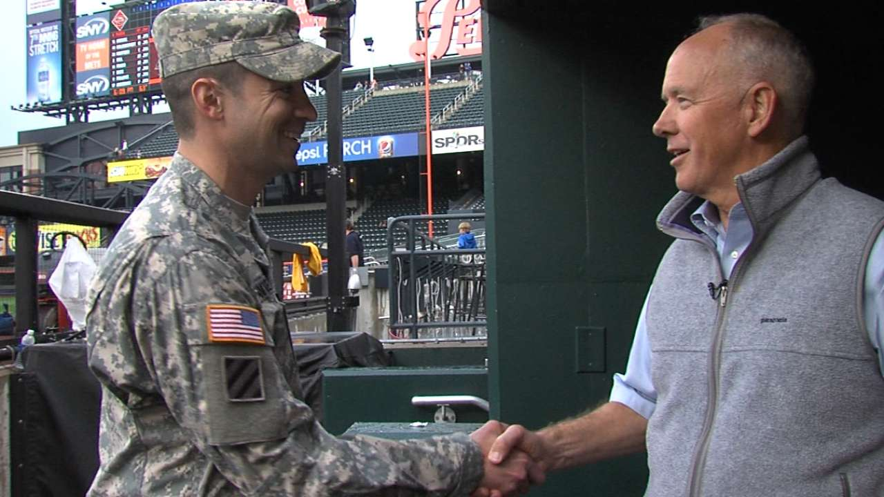 Lessons from military translate well into baseball