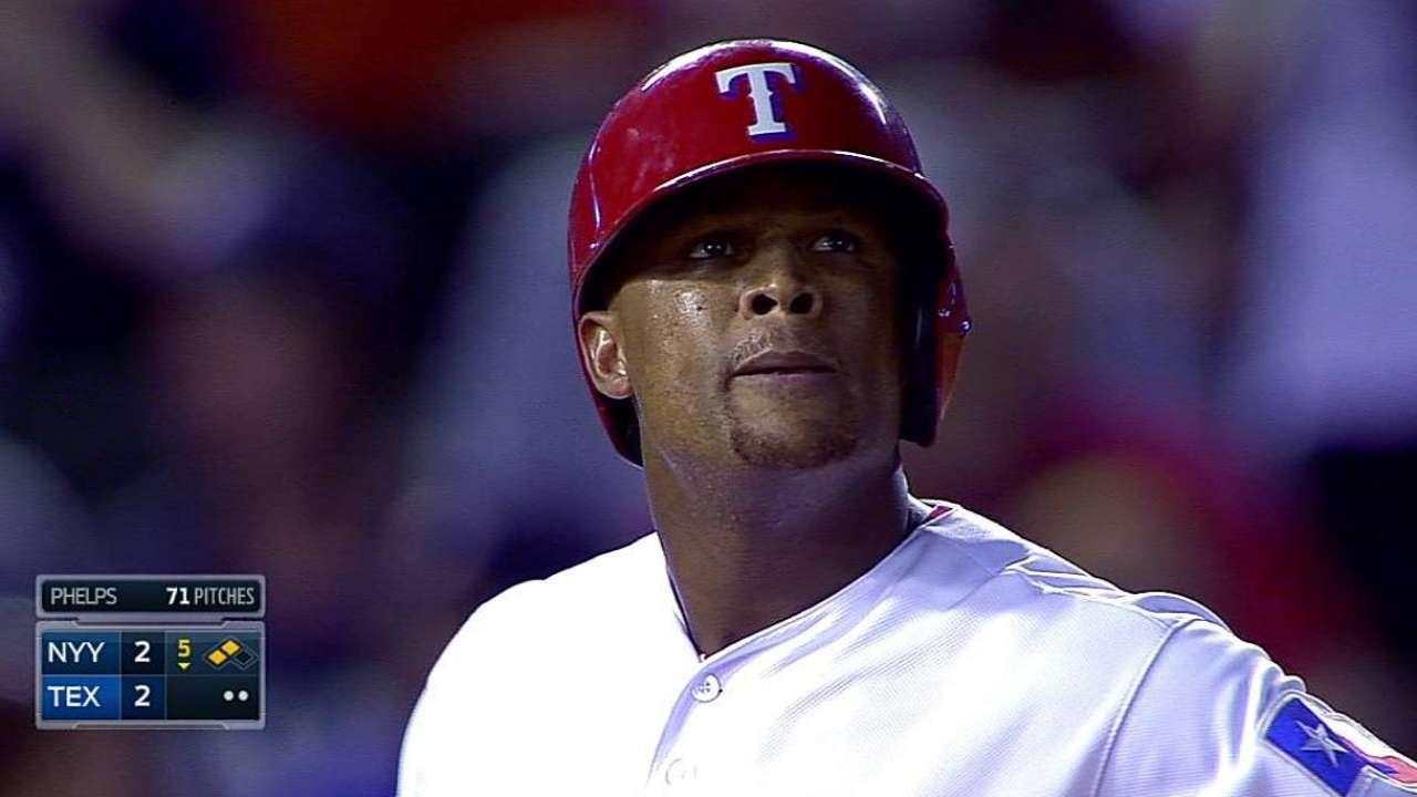 Bates de Rangers apoyaron a Darvish vs. Yankees