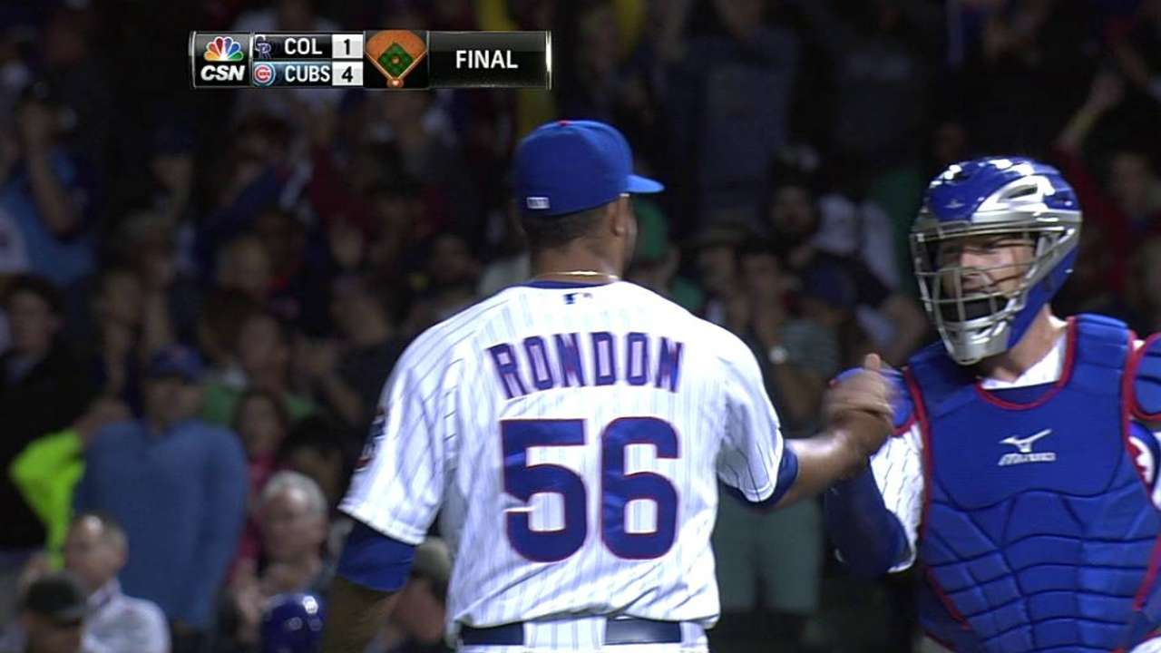 Renteria: Rondon has 'consistent closer' potential