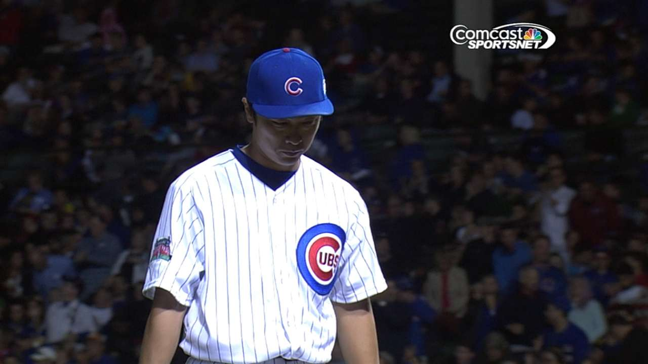 Cubs start set on right note, get Wada first win