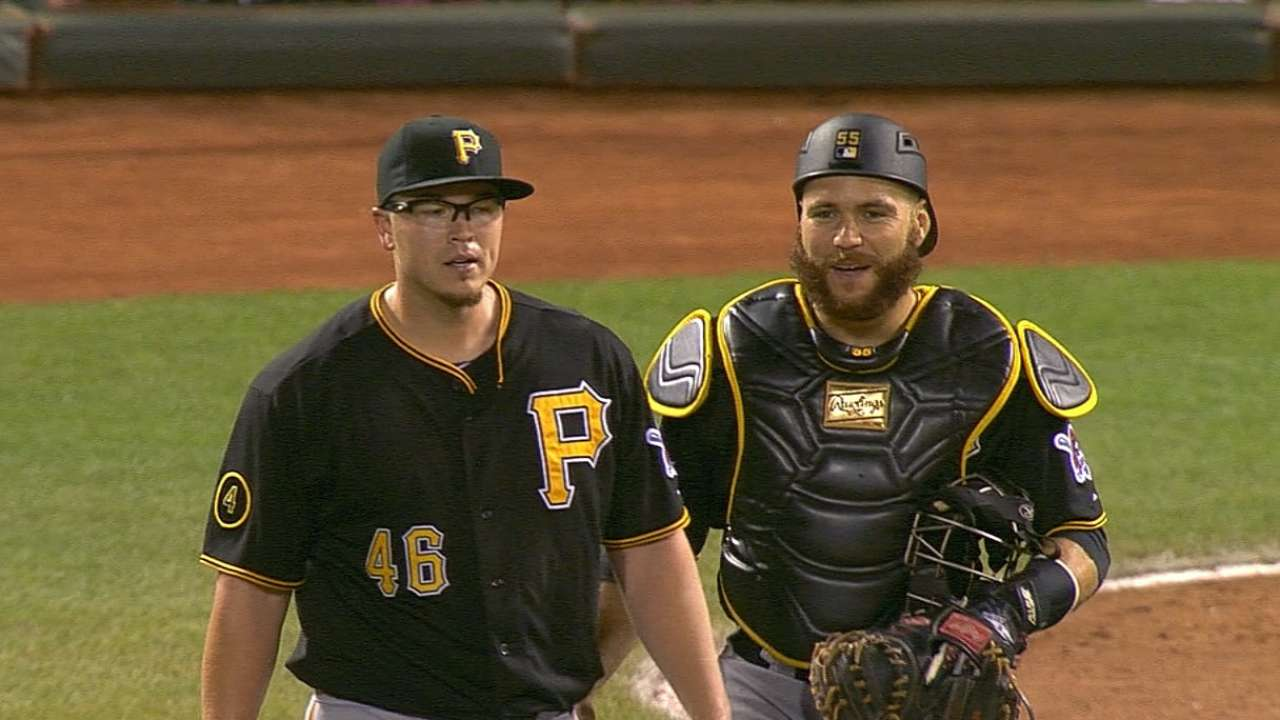 Worley tosses shutout after Pirates' early outburst