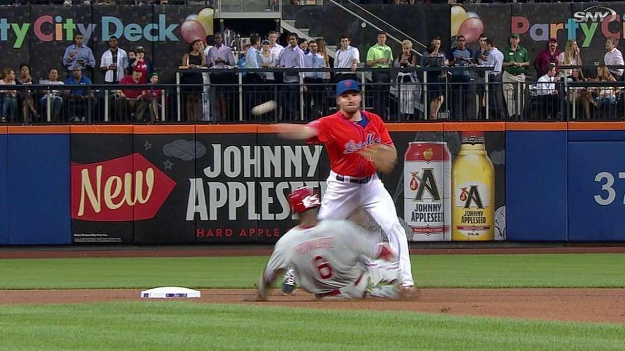 Gee falló y los Mets se fueron en blanco ante los Filis