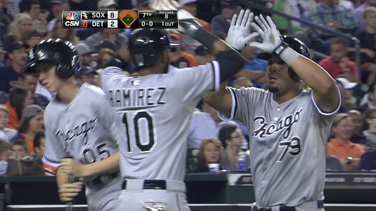 White Sox cruise after thrashing Tigers in seventh