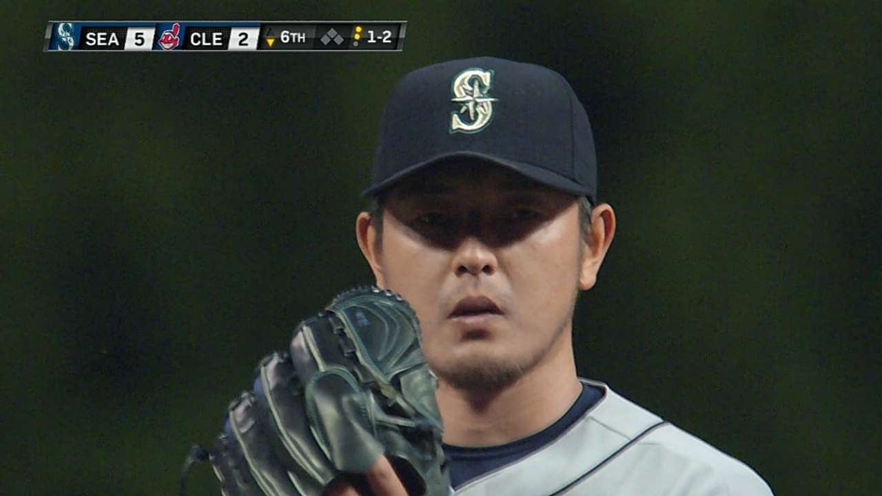 Iwakuma in control with mastery of command