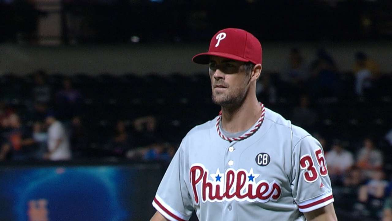 Phillies still expect big return in potential Hamels trade