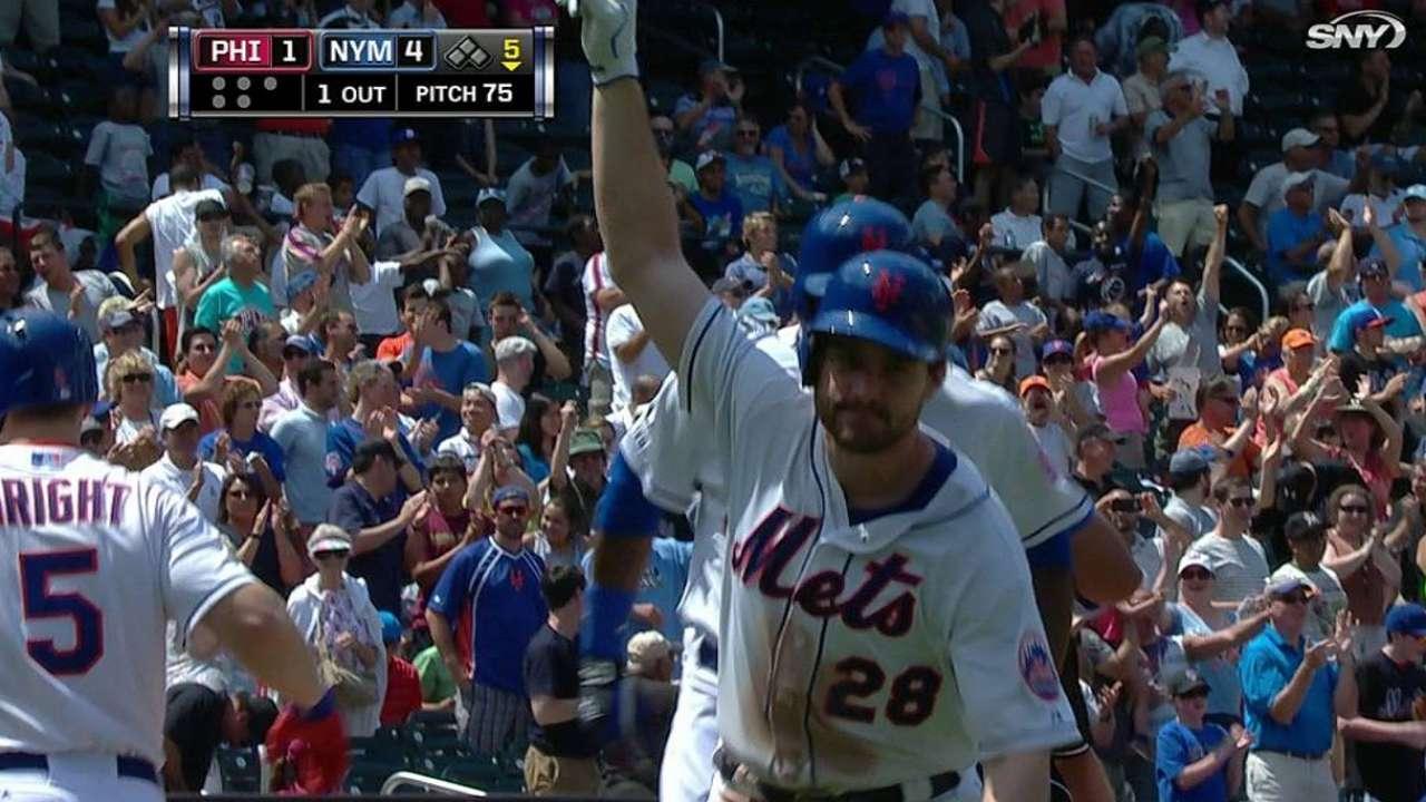 Wheeler y Murphy guían a Mets en paliza vs. Filis