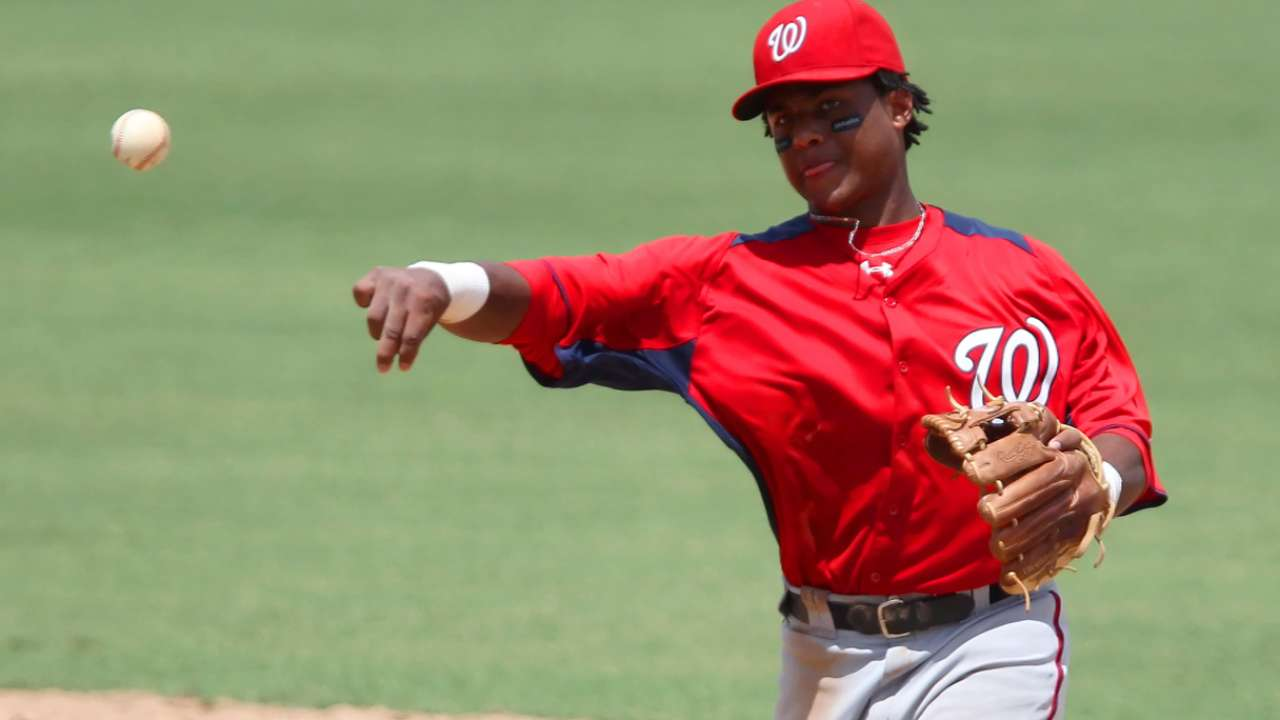 Nats prospect Difo has big night for Hagerstown