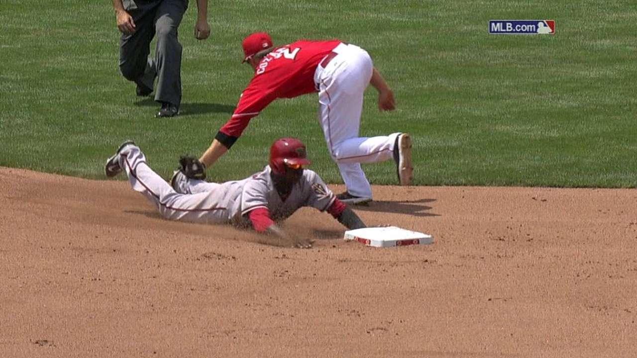 Price unsuccessful in challenging stolen base