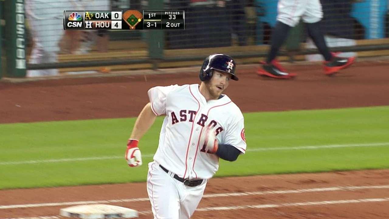Keuchel lanzó la ruta y Astros doblegaron a Oakland