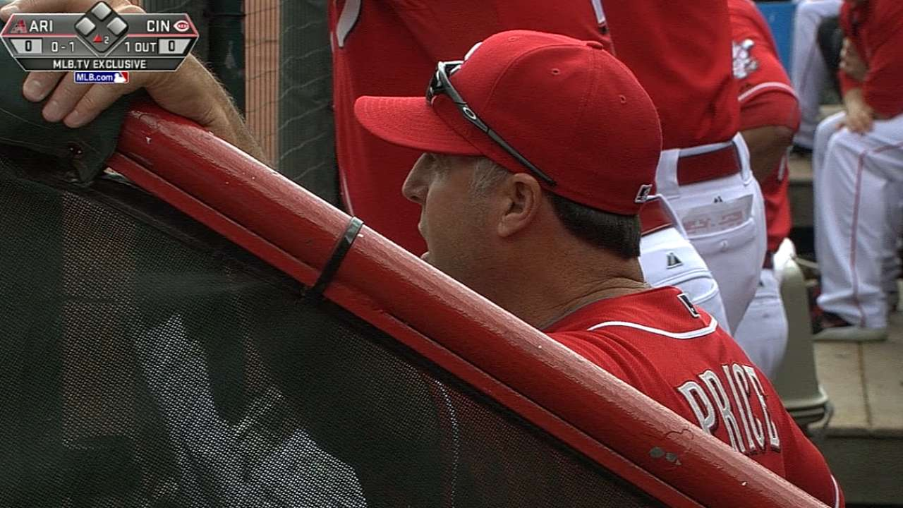 Price feels Reds will be buyers at Trade Deadline