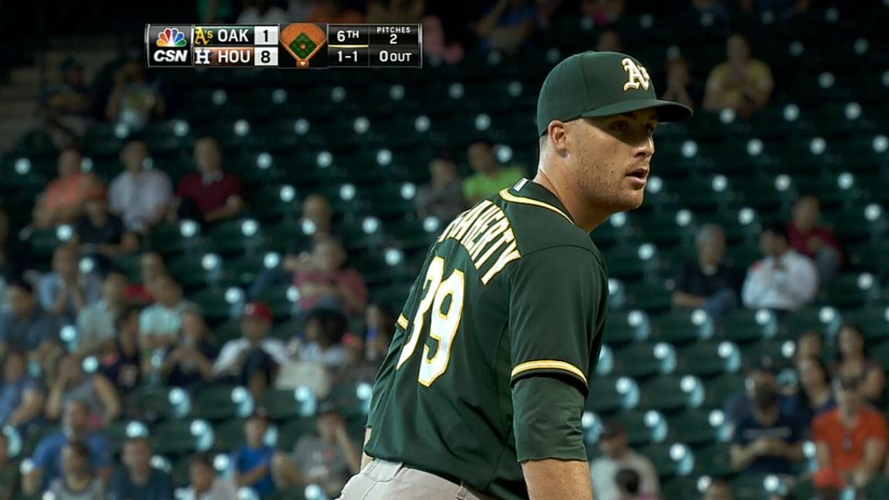 O'Flaherty could get call as A's interim closer