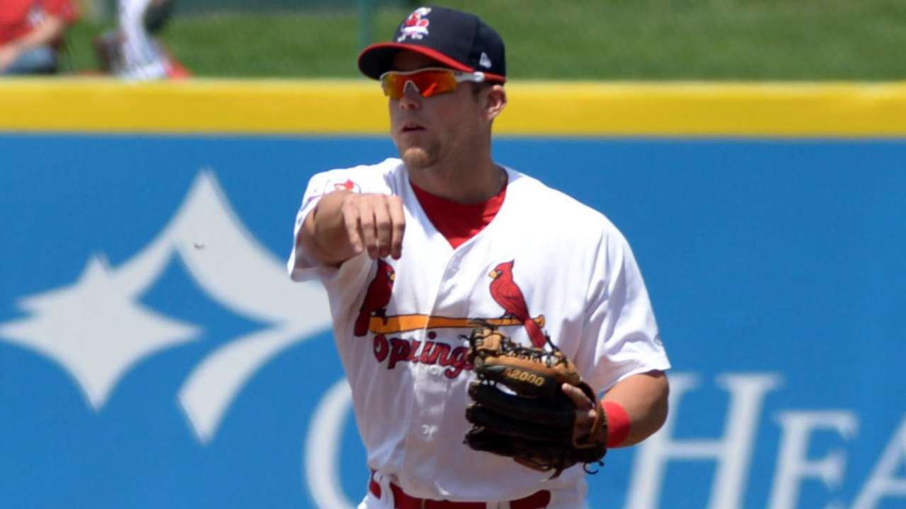 Cards' Wilson gets clutch hit in Fall League win