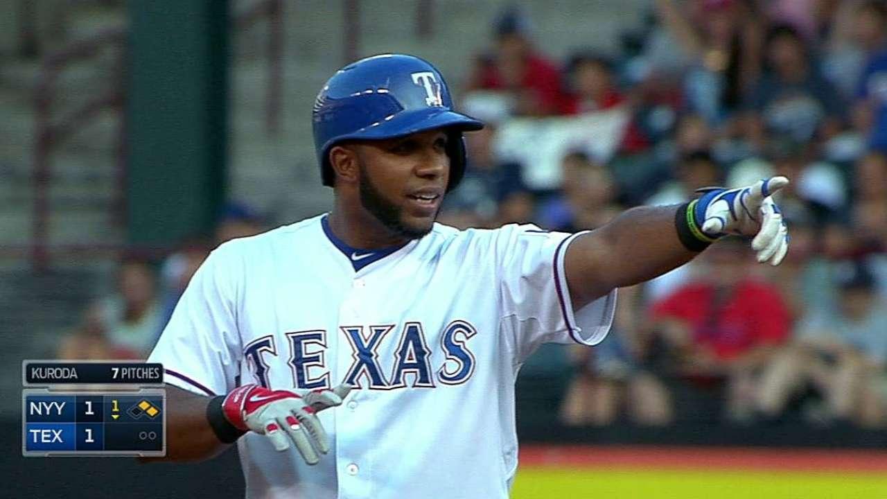 Lewis frena a Yankees y Rangers ganan la serie