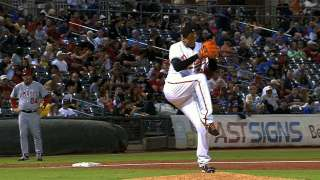 Rodriguez throws seven scoreless innings for Portland