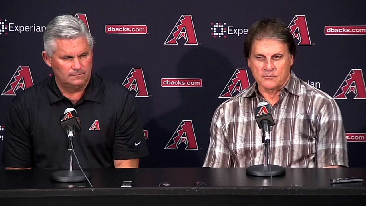 Q&A with Diamondbacks GM Kevin Towers