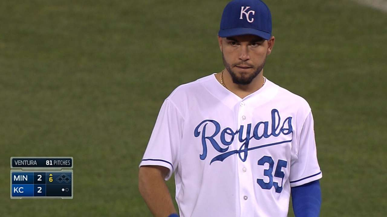 Hosmer sees hand specialist as KC plays man short