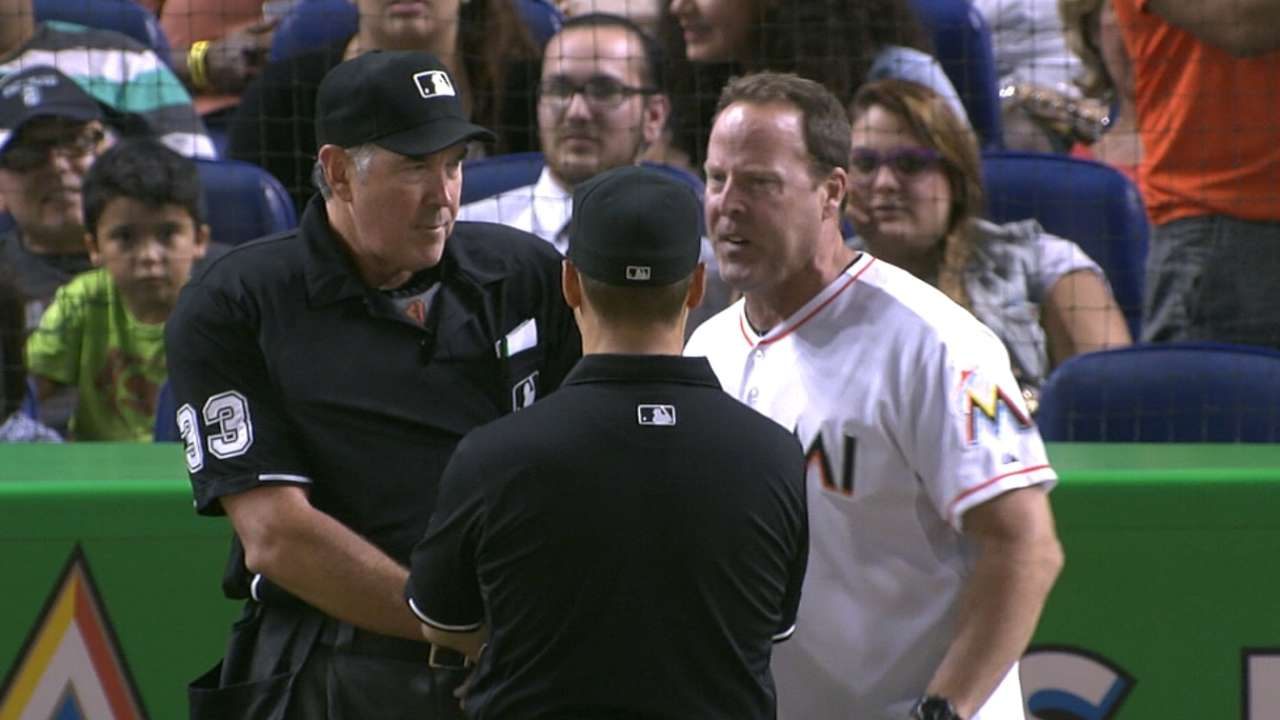 Marlins 'turn the page' after controversial call