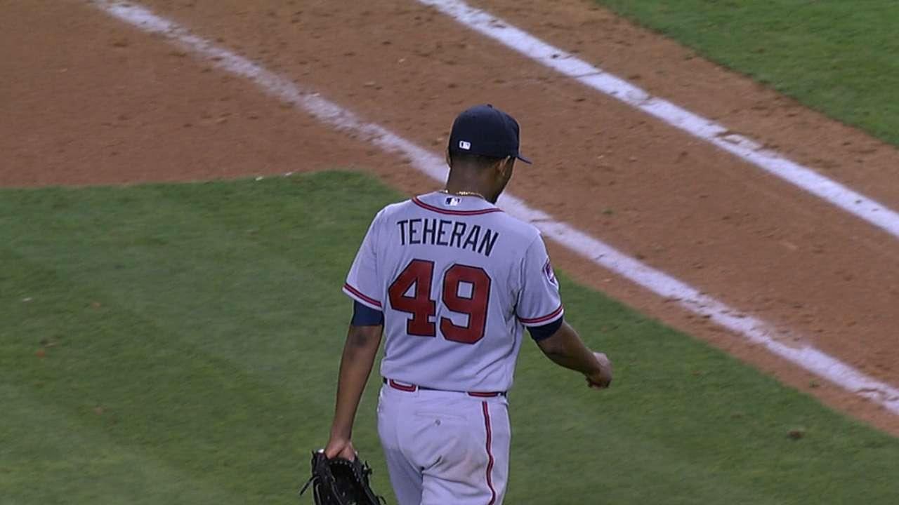 Teheran drops duel with Dodgers' Kershaw