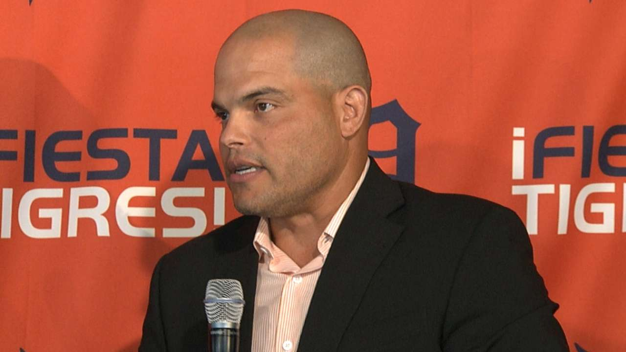 Pudge happy to be back 'home' in Detroit