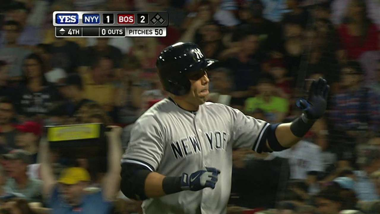 Yanks in no rush to put Beltran back in right
