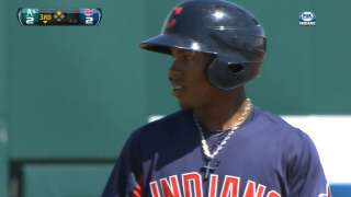 Lindor matches career high for hits and runs