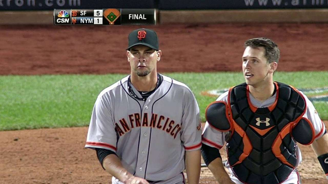 Vogelsong domina a Mets y lanza juego completo