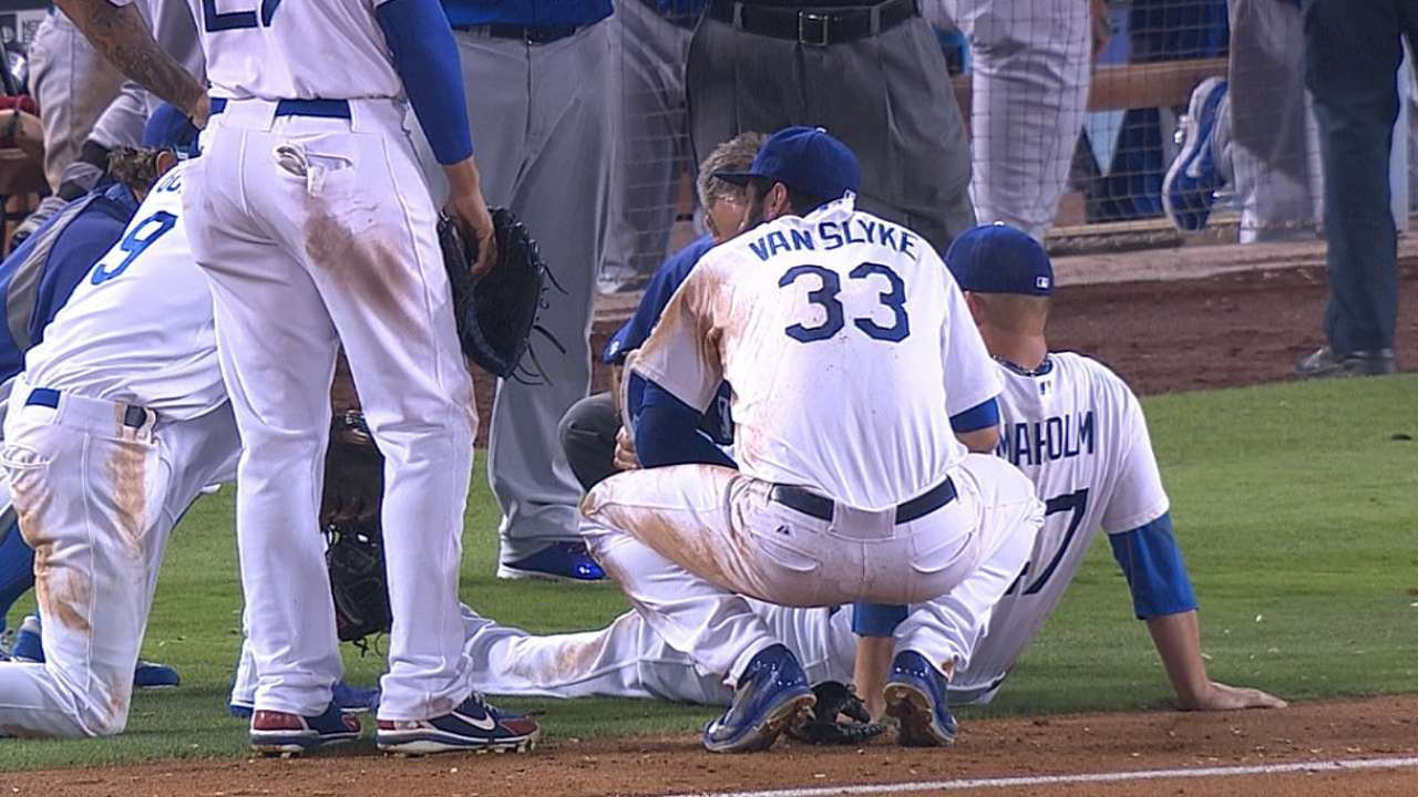 Puig, Ellis, Gonzalez sit with minor injuries