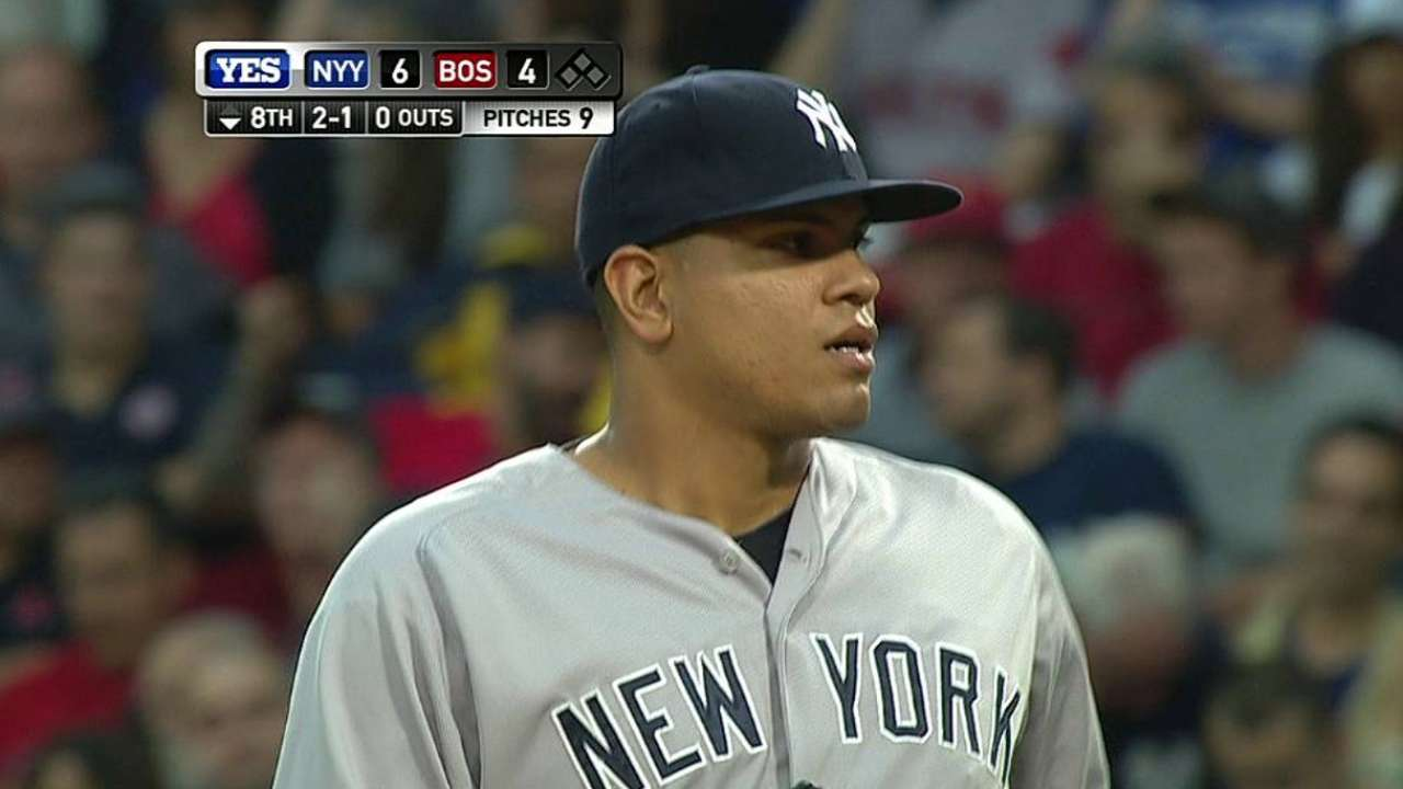 Betances hits triple digits on Fenway radar