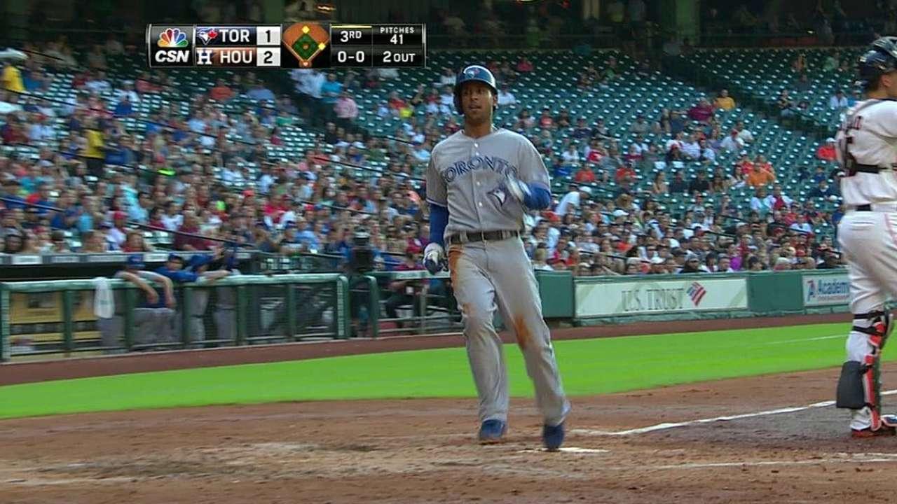 Dickey, Blue Jays knocked around by Astros