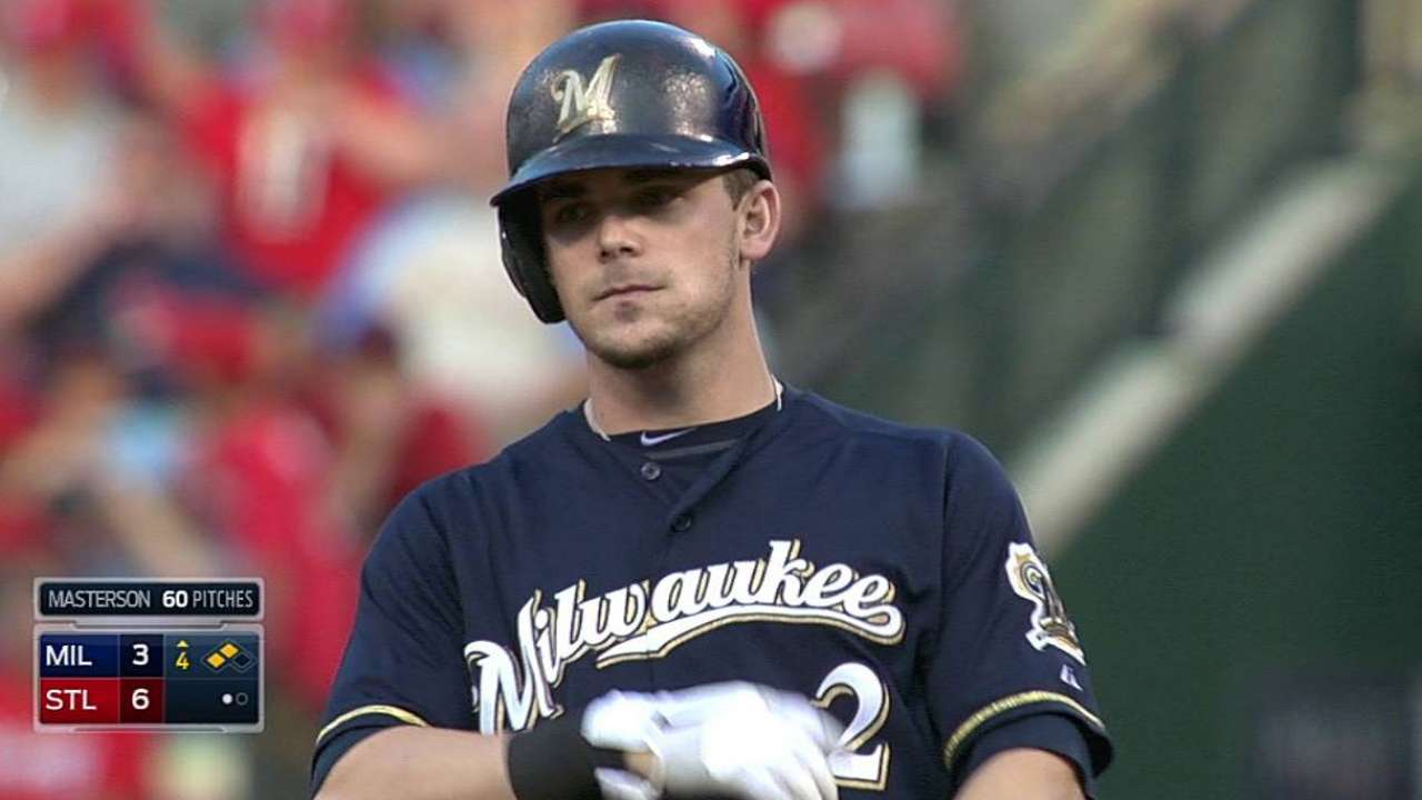 Gennett, Davis out of lineup due to injuries
